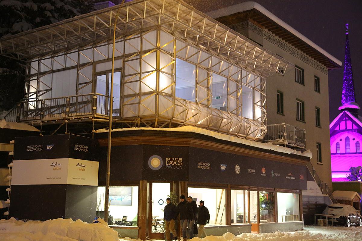 Davos - IceHouse Press Release