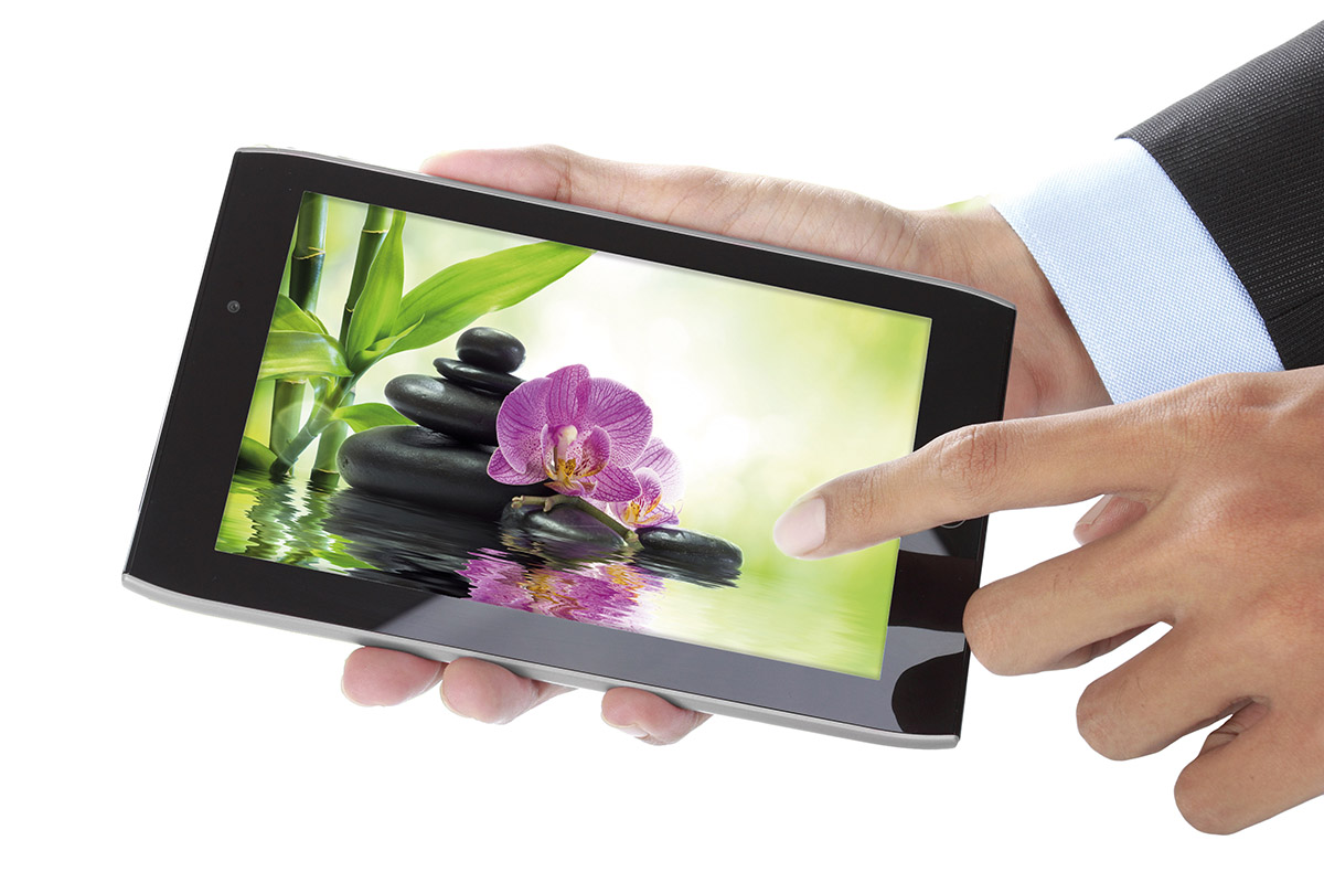 Touchscreen Press Release