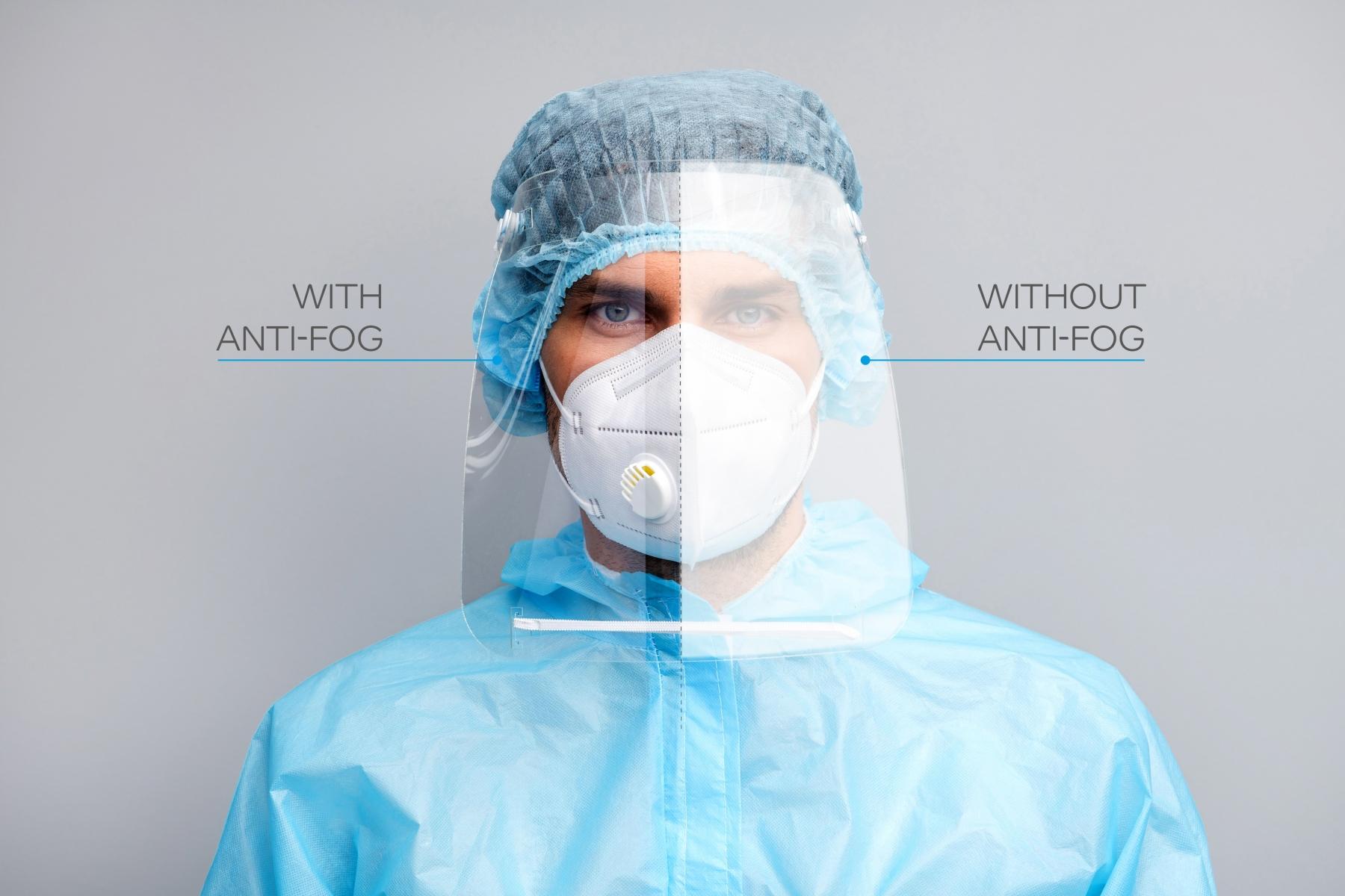 LEXAN Polycarbonate HP92AF Anti-Fog Film - Medical - Male - High Resolution