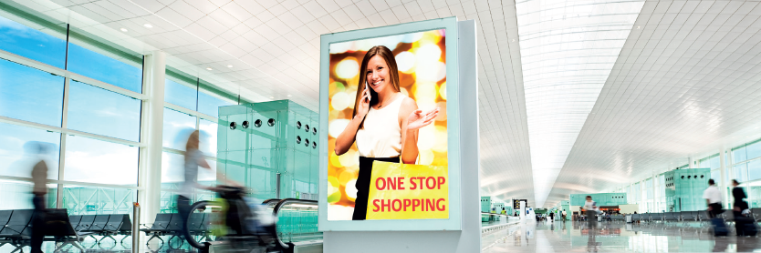 LEXAN polycarbonate sign sheet signs advertisement pillars translucent opal white UNIFORM ILLUMINATION