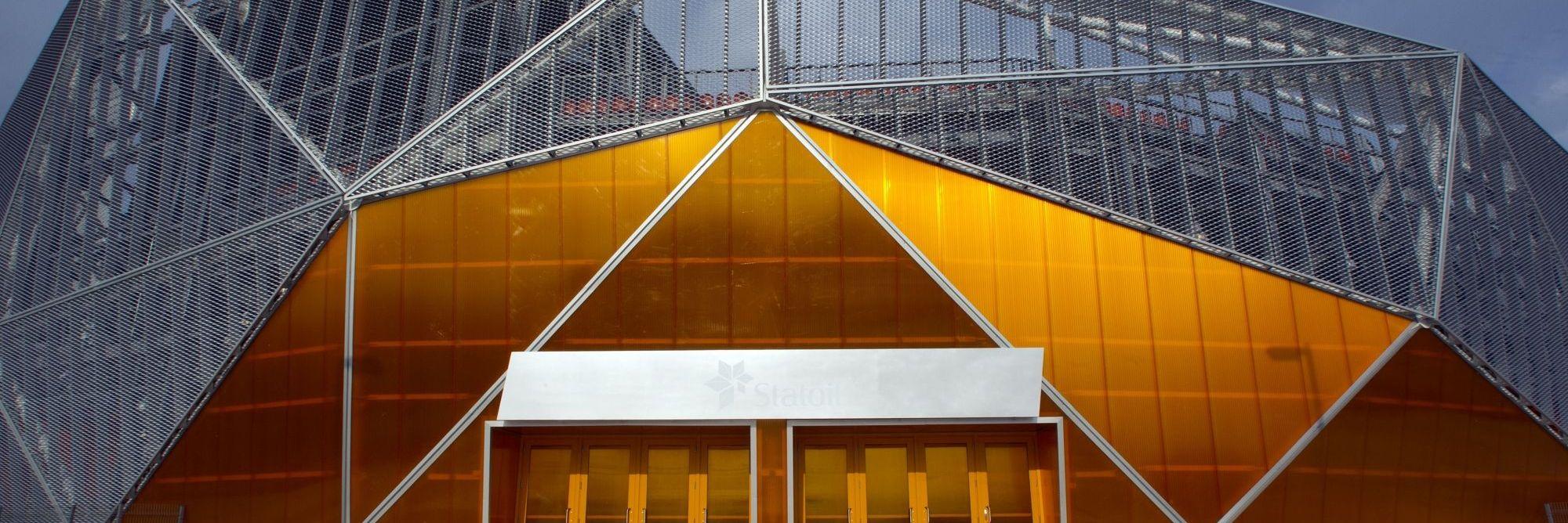 LEXAN THERMOCLICK sheet building system energy saving external wall cladding building walls high stiffness