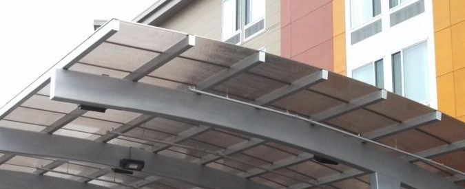 LEXAPANEL standing seam system sustainable energy saving skylights barrel vaults fenestration