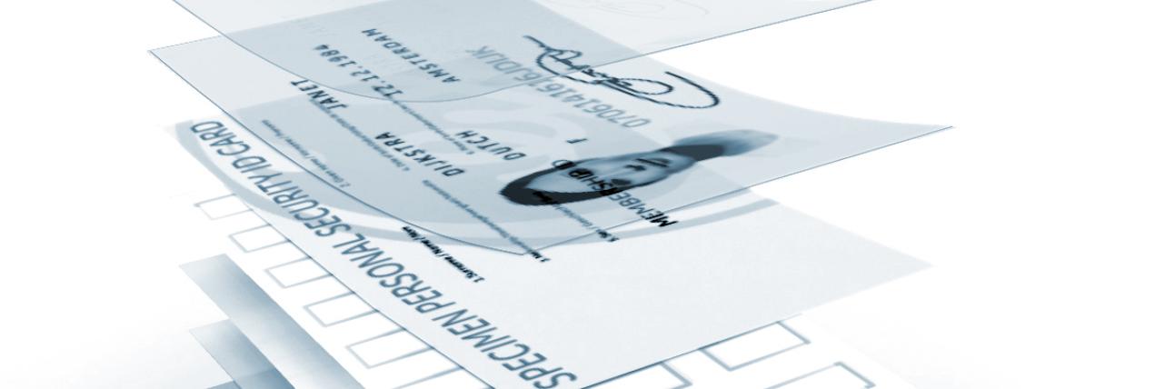 ID card layers